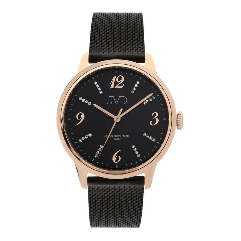 9a5277c4a2 Dámske náramkové hodinky JVD J1124.3 čierne - Silvertime