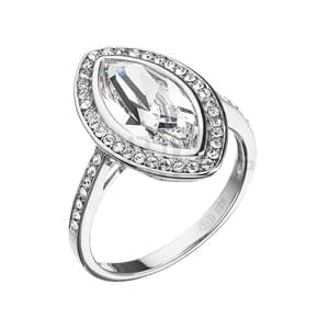 bca076cbd Strieborná prsteň Swarovski elements 35050.1 krystal, Swarovski elements